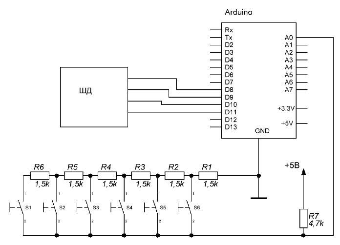 2.4 Tft Lcd Shield Схема Подключения
