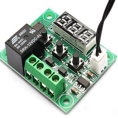Программируемый терморегулятор W1209 DC