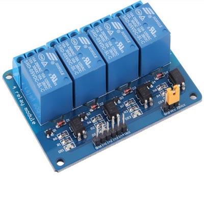 4-канальный релейный модуль
